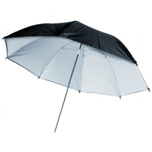 Paraply_svart_vit