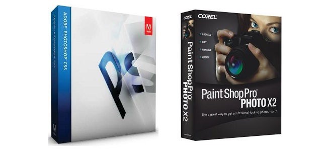 Photoshop och Paint Shop Pro